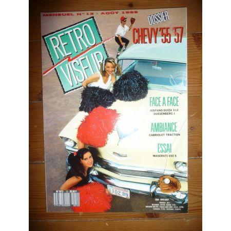 CHEVY 55-57 Revue Retro Viseur