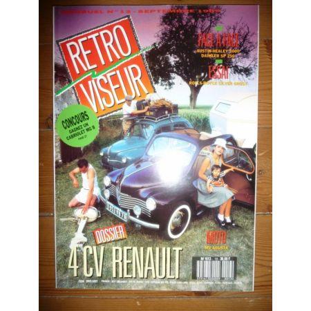 RENAULT 4CV Revue Retro Viseur