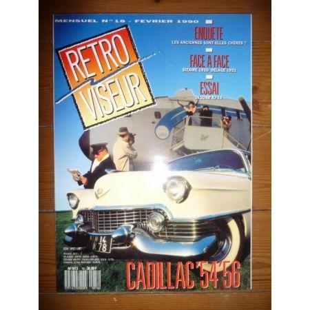 CADILLAC 54-56 Revue Retro Viseur