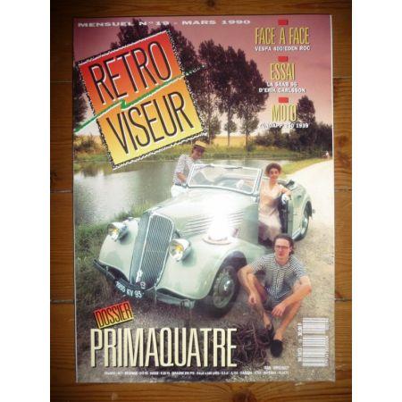 PRIMAQUATRE Revue Retro Viseur
