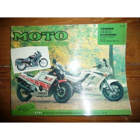 600 XJ FZ 1000 GPZ Revue Technique moto Kawasaki Yamaha