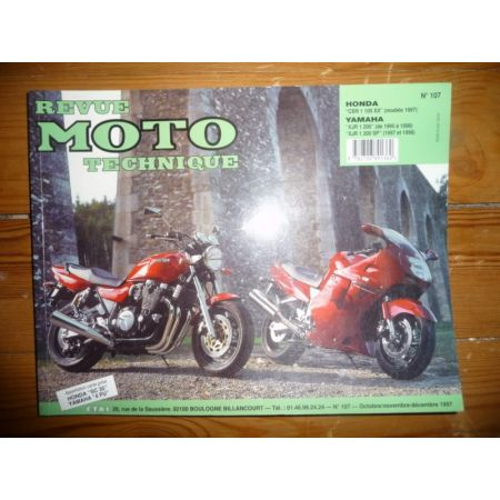 CBR1100 XJR Revue Technique moto Honda Yamaha
