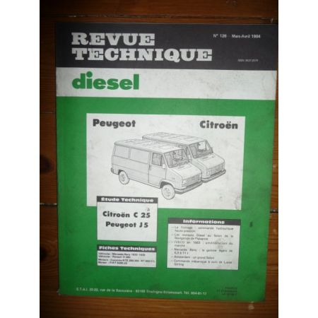 C25 J5 Revue Technique Citroen Peugeot