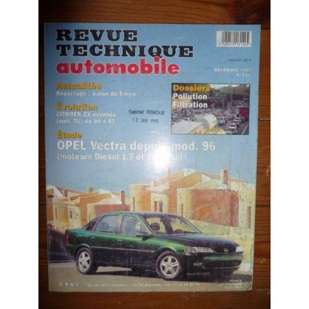 Vectra dep 96 Revue Technique Opel