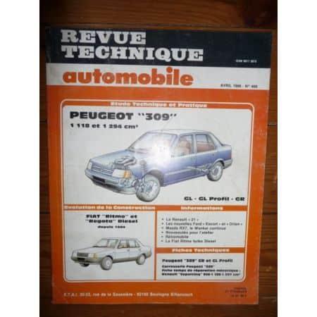 309 Ess Revue Technique Peugeot